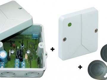 WTS -Transponderschalter TS-90L Der berührungslos arbeitende Schlüsselschalter öffnet sicher und zuverlässig Tor und Tür