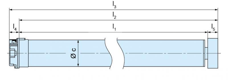 Becker - BoxCTRL - DECT, Rollladenkomplettset K-12Nm-D01