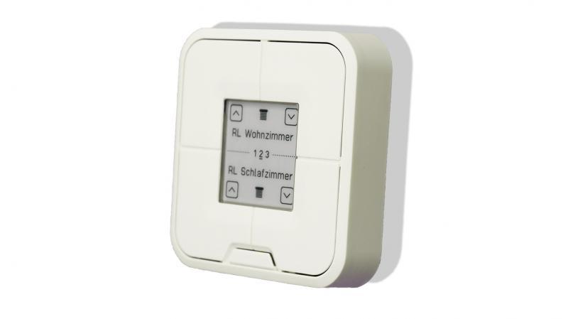 AVM FRITZ!DECT 440, Vierfachtaster als Wand- oder Tischsender für die Steuerung von bis zu 6 Rollläden