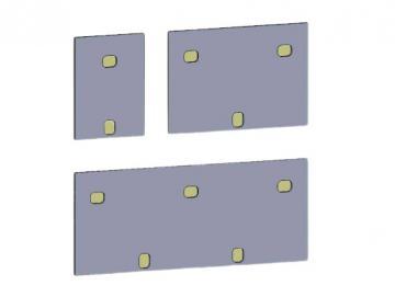 Dübelabdeckung-Thermax für Lewens Toscana Markise für Wand und Deckenkonsolen