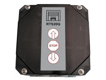 WTS - RTS-20Q Rolltorsteuerung mit Funk, ohne Verkabelung, ohne Handsender 868 MHz zur Ansteuerung von 230V AC Rohrantrieben